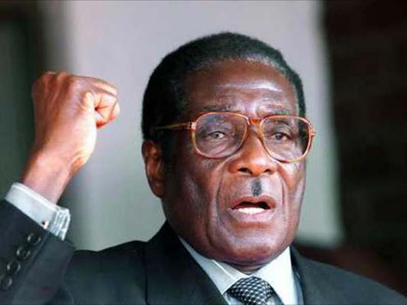 Robert Mugabe. The end of an era